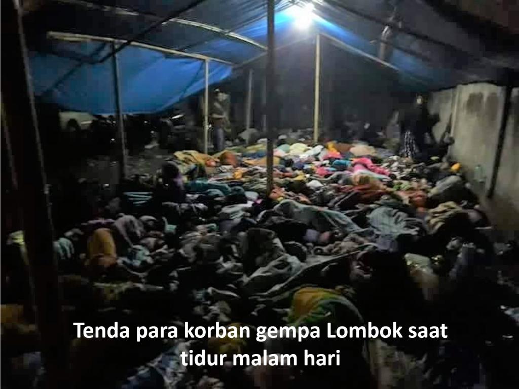 Kunjungan Pelayanan Lions Clubs ke Lokasi Gempa Lombok