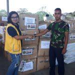 Tim ALERT Lions Clubs Menyerahkan Bantuan Untuk Para Korban Bencana Palu Donggala