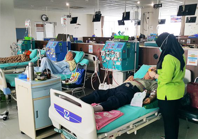 Mesin Cuci Darah untuk Klinik Hemodialisis di Pluit Jakarta Utara