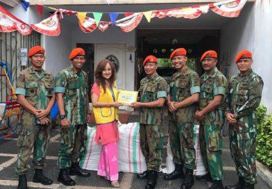 Serah Terima Bantuan Untuk Korban Palu Donggala