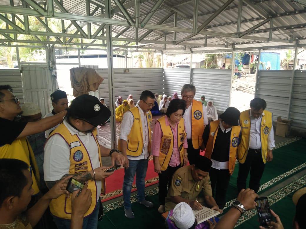 Lions Clubs Membangun Rumah Tahfids Nurul Hidayah, Desa Nenggala, Kecamatan Gangga, Lombok