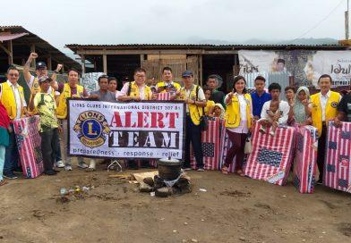 Team ALERT Perkumpulan Lions Indonesia Berangkat ke Palu