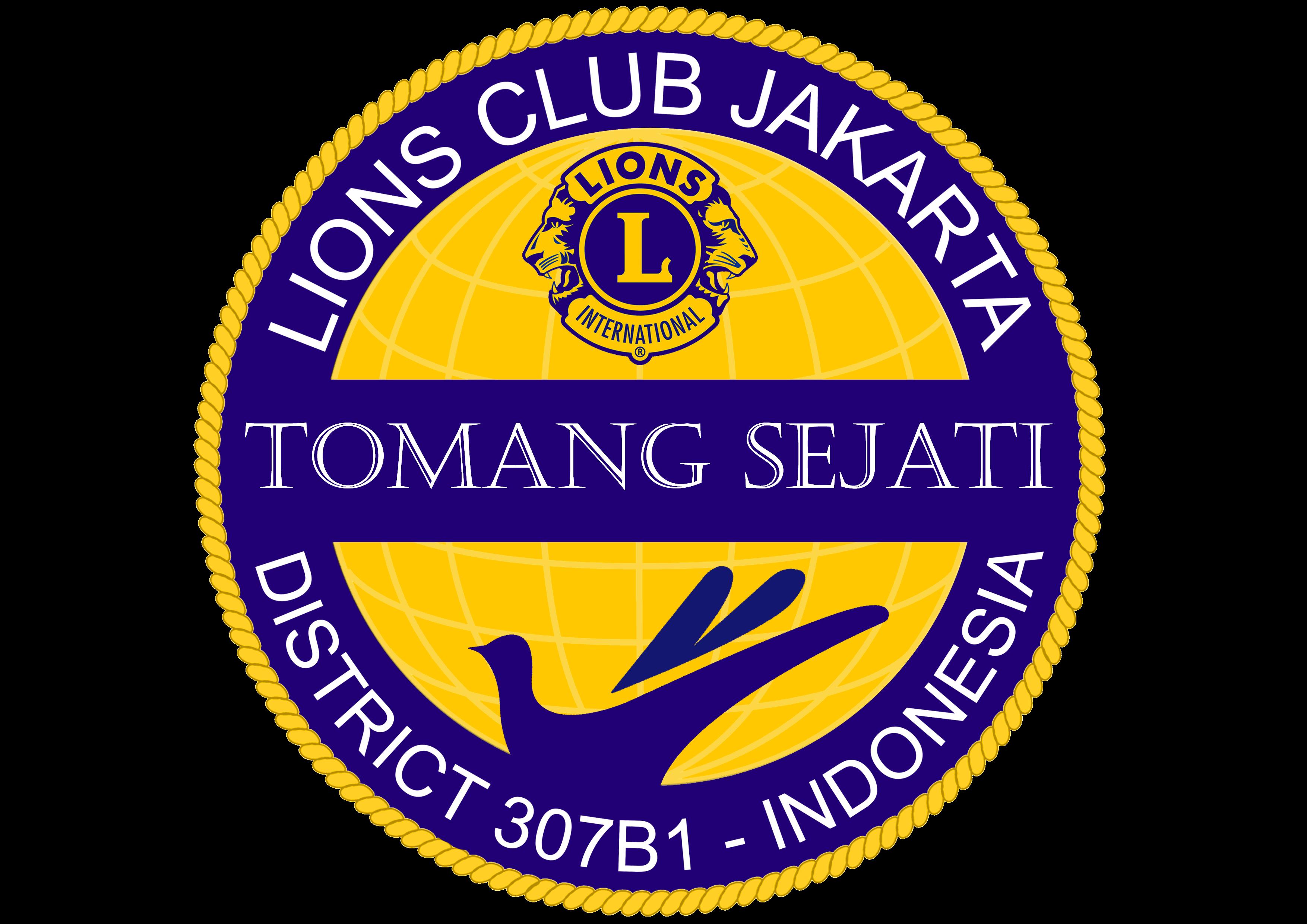 logo lions club jakarta tomang sejati lions clubs international district 307 b1