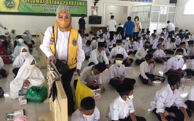 Metteyya Mahardhika Bersama Pesantren khusus Yatim As Syafiiyah Jatiwatingin